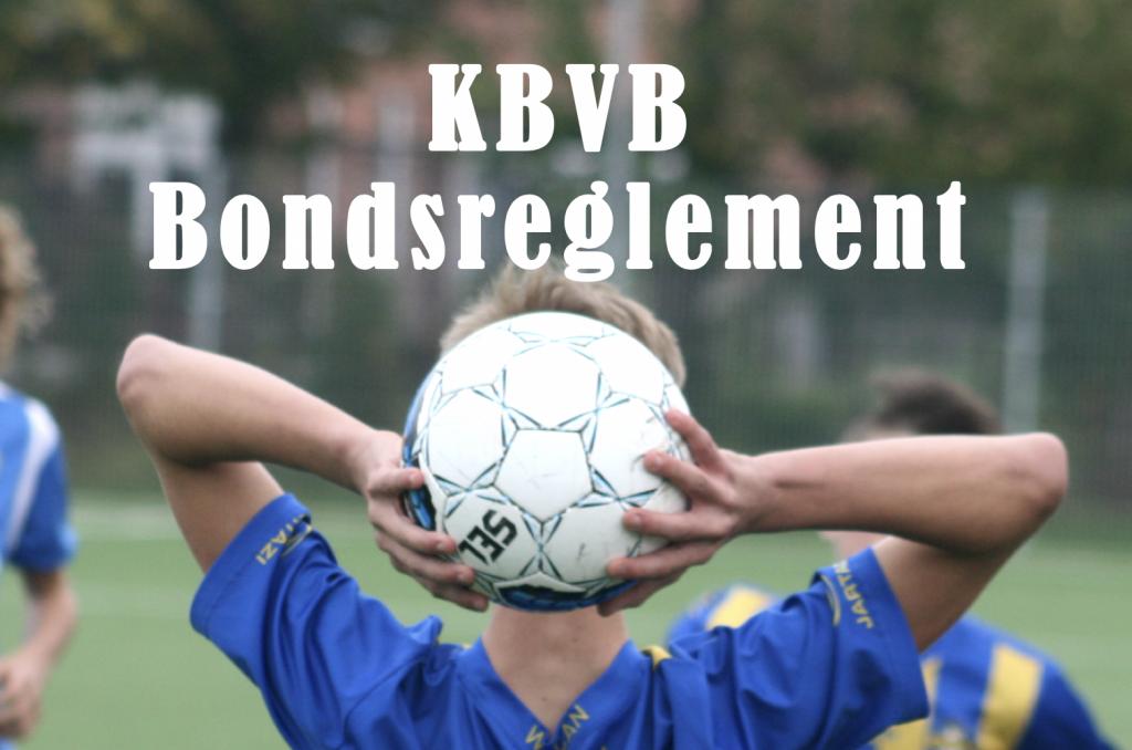 KBVB Bondsreglement - jeugd.thes-sport.be